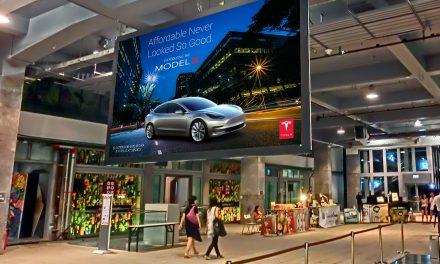¿Cuántos anuncios de Tesla has visto?
