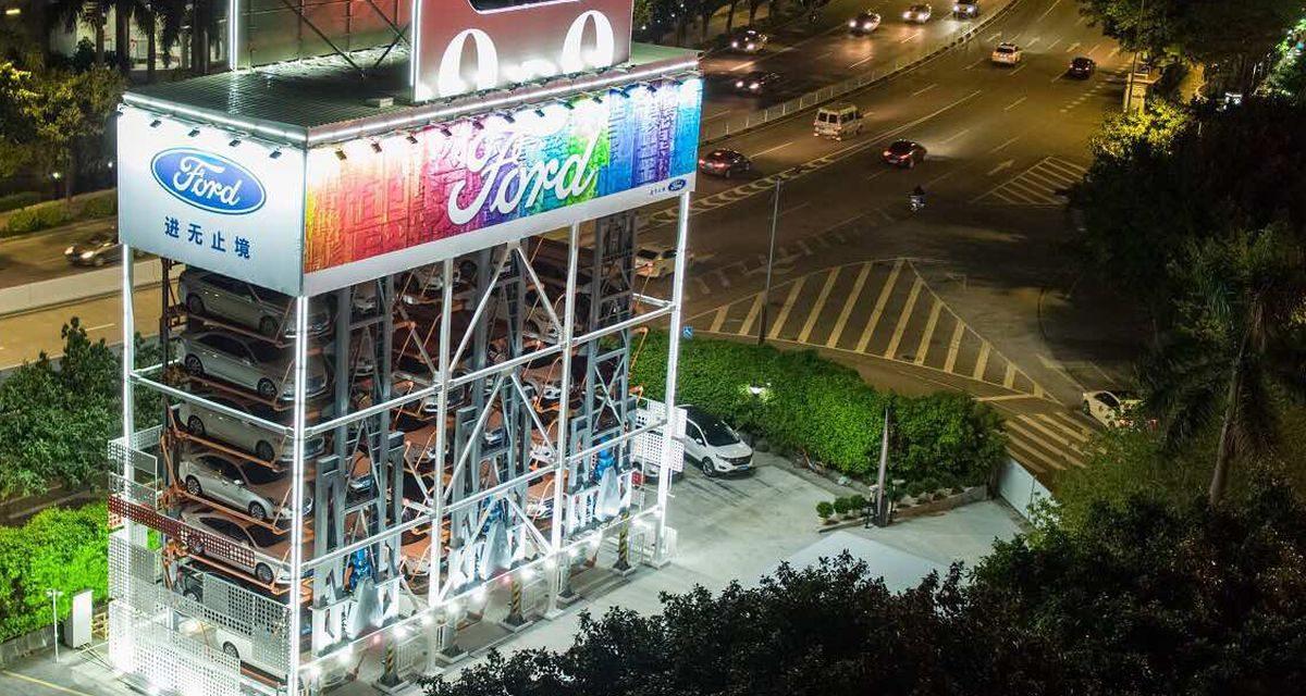 Maquinas de Vending para coches… ¿va en serio?