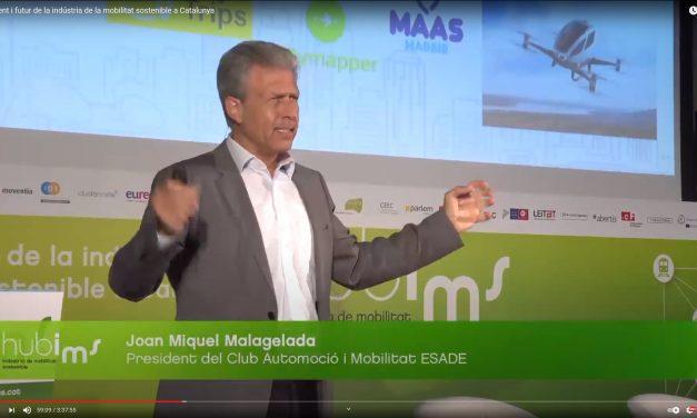 Conferencia sobre «Tendencias de la Movilidad Sostenible» en la Jornada Anual de HUBIMS (Cambra de comerç de Barcelona)